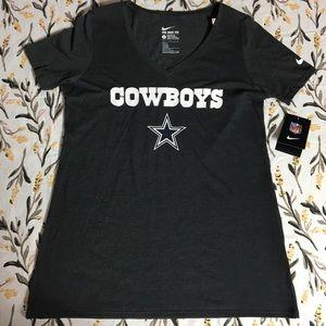 Nike women's Dallas Cowboys Shirt NWT
